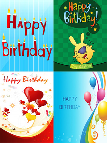 The Ultimate Happy Birthday Cards (Lite Version). Custom and Send Birthday Greetings eCard with emoji, text and voice messages screenshot 9