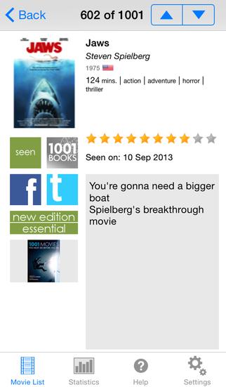 1001 Movies Before You Die screenshot 2