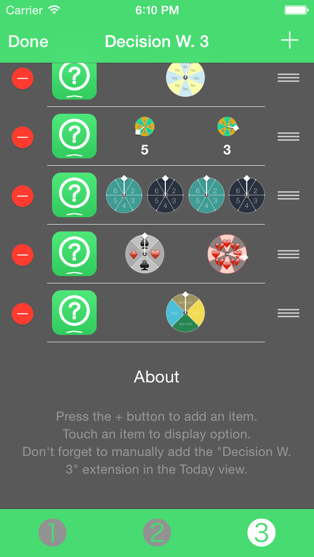 Decision Widget screenshot 4