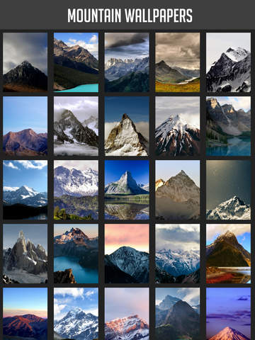 Mountain Wallpapers screenshot 5