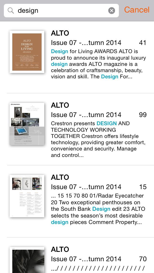 ALTO Magazine screenshot 5