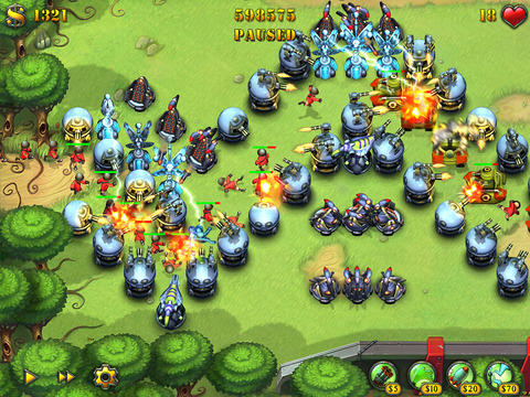 Fieldrunners for iPad screenshot #1