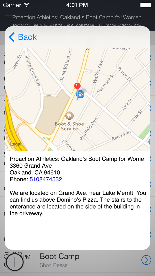 ProAction Athletics Oakland Bootcamp for Women screenshot 3
