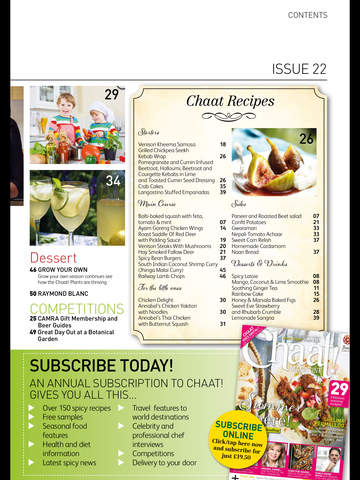 Chaat! Magazine screenshot 8