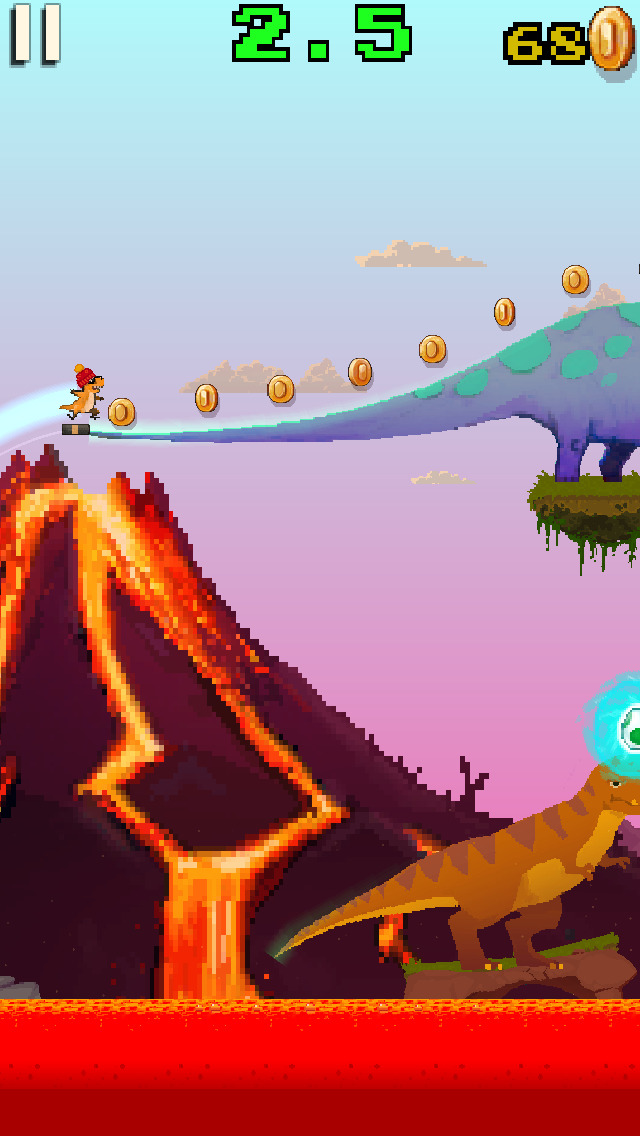 Dino Skater screenshot 3