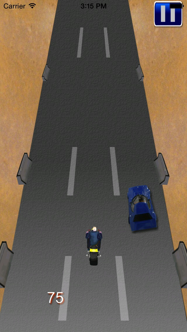 Motorcycle : Lightning Bike Rivals screenshot 1
