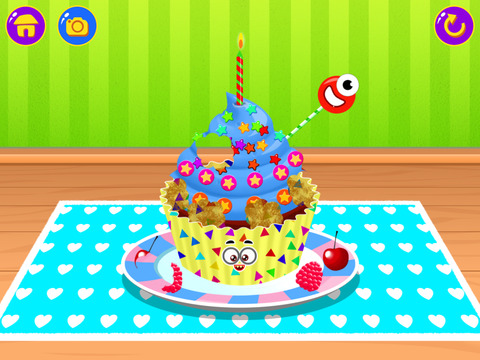 Cupcake Studio - Junior Chef's Dessert Maker Bakery with Baking and Cooking Games screenshot 10