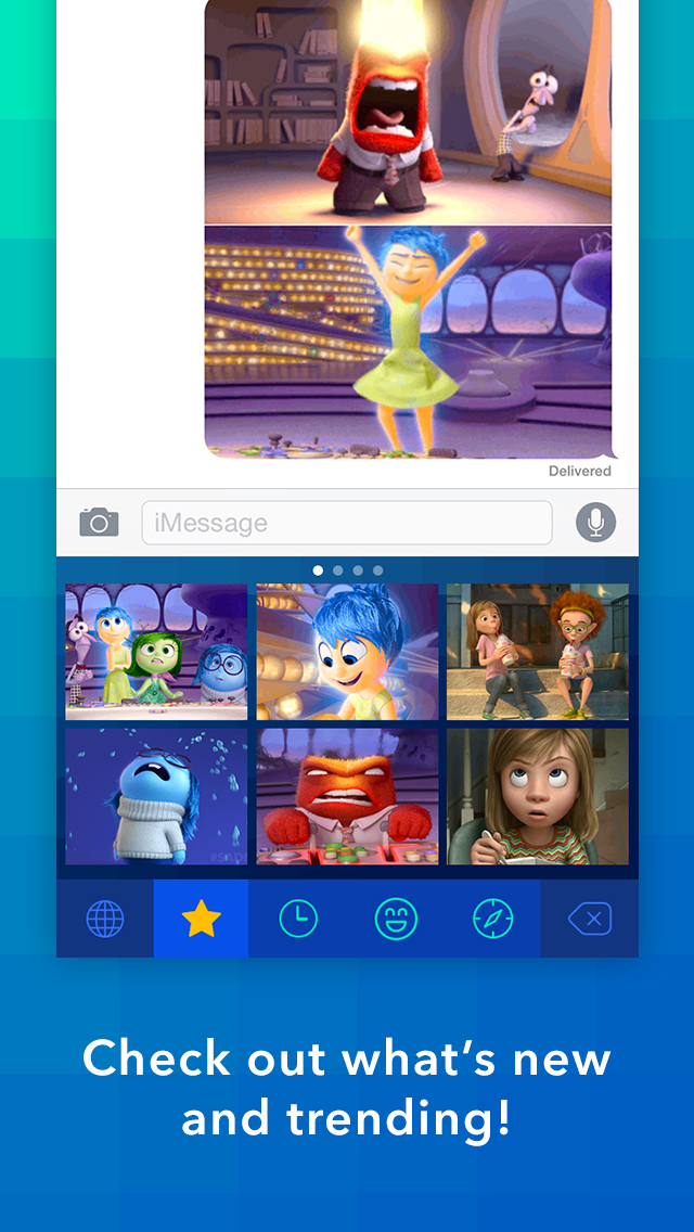 Disney Gif + Keyboard screenshot 2