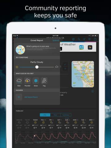 Weather Underground: Local Map screenshot 10