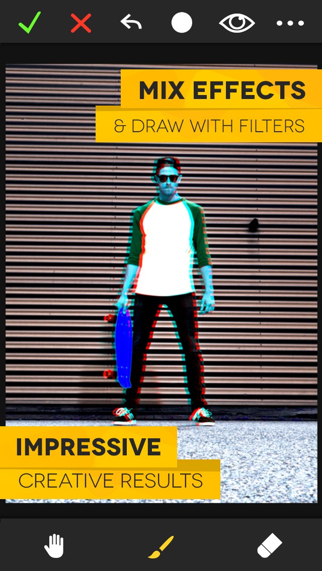 FX Photo Studio – Pro Picture Editor with Color Filters and Beauty Camera for Perfect Selfie plus Textures, Effects and Camera Frames screenshot 5