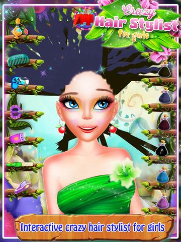 Crazy Hair Stylist For Girls screenshot 6