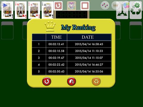 TouchSolitaire PVD screenshot 7