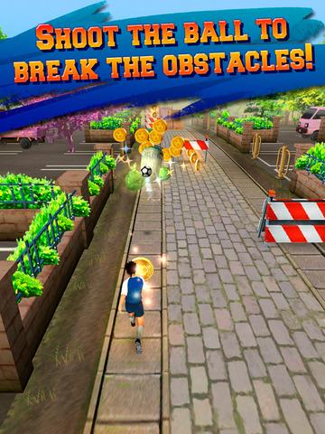 Soccer Runner: Unlimited football rush! screenshot 7