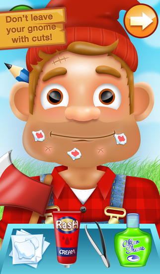 Shaving Crazy Gnomes – A Messy Hairy Shave Makeover ! screenshot 3