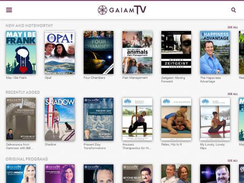 Gaia TV Discover Mindful Yoga screenshot 6
