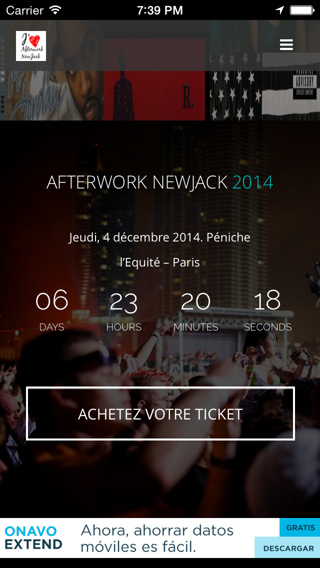 Afterwork Newjack screenshot 3