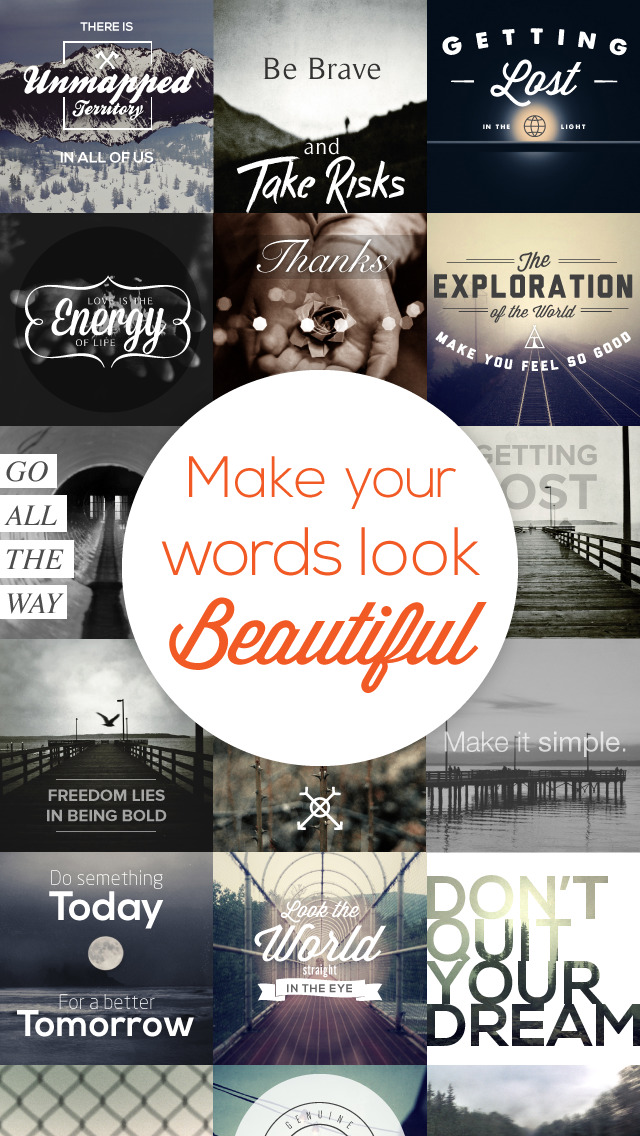 quotergram photo text editor for quotes backgrounds apps apps