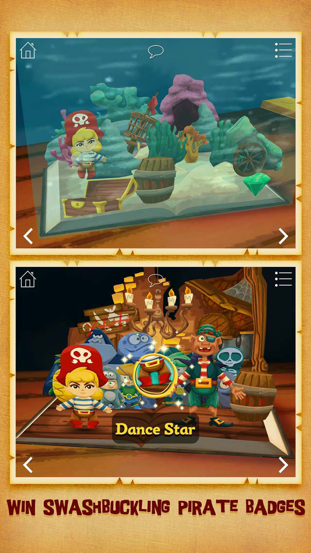 StoryToys Pirate Princess screenshot 4