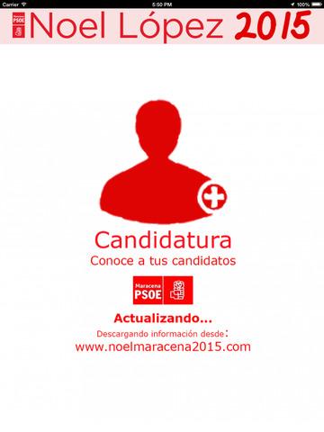 Noel2015 - Noel López - candidatura del Partido Socialista a la alcaldía de Maracena (Granada, España) screenshot 6