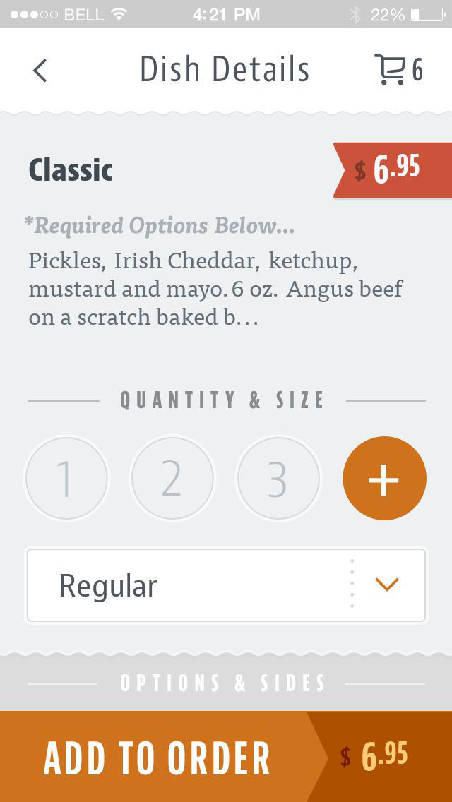 Black Rebel Burger screenshot 4