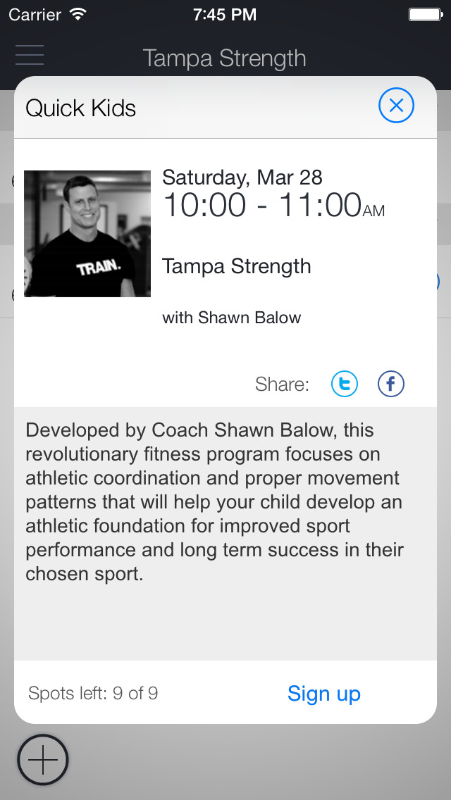 Tampa Strength Academy screenshot 2