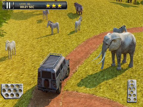 3D Safari Parking PRO - Full Wildlife Explorer Lion and Elephant Simulator Version screenshot 8