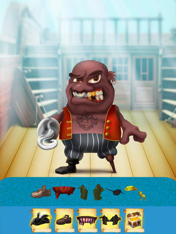 The Pirates of Treasure Island Dress Up Game - Advert Free Version screenshot 9