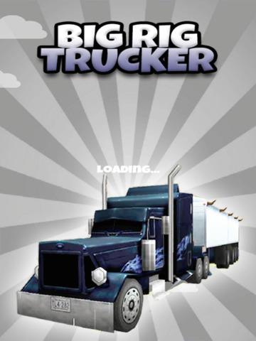 Big Rig Trucker: 3D Semi Truck Driving Game - FREE Edition screenshot 10