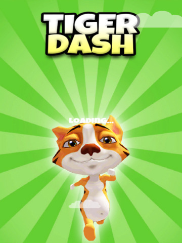 A Tiger Dash 3D: Animal Kingdom of Cats - FREE Edition screenshot 10