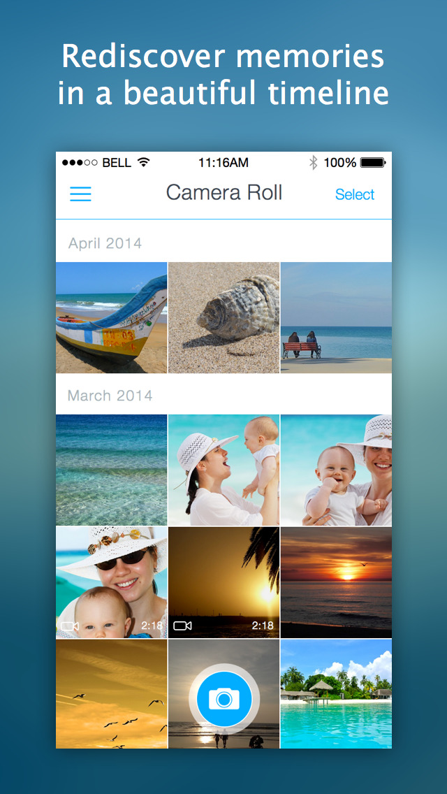 Shutter by StreamNation - Camera with unlimited free storage screenshot 5