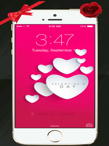 Beautiful Valentine's Day - Cool HD Themes and Backgrounds screenshot 7