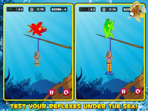 One Fish, Two Fish, HANGED! - A hangman classic screenshot 5