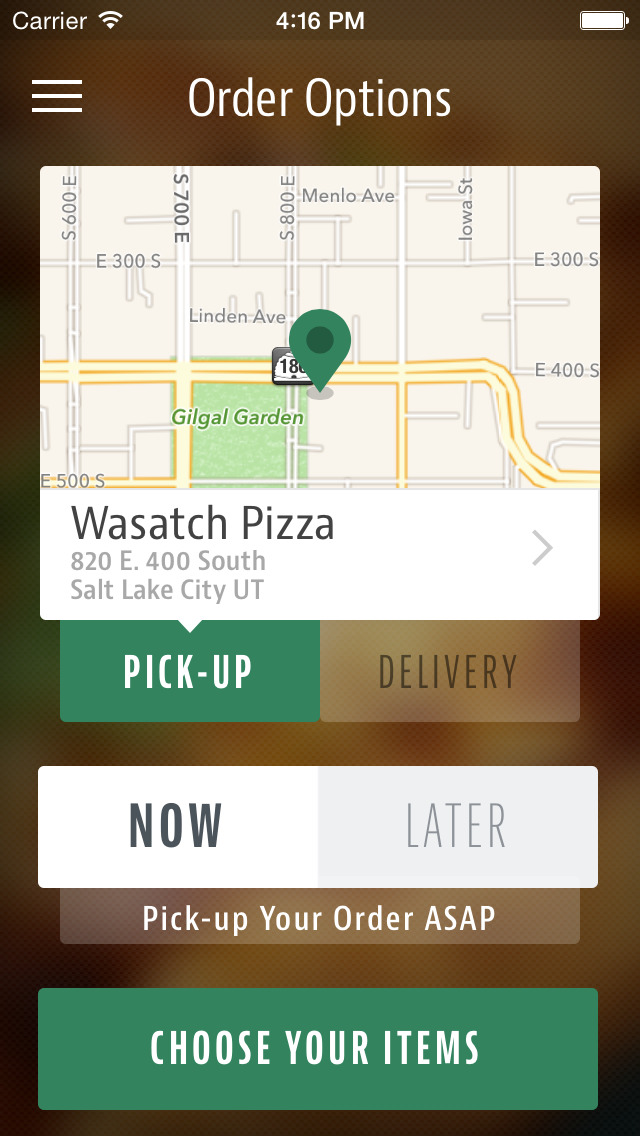 Wasatch Pizza screenshot 2