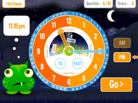 Squeebles Tell The Time screenshot #2