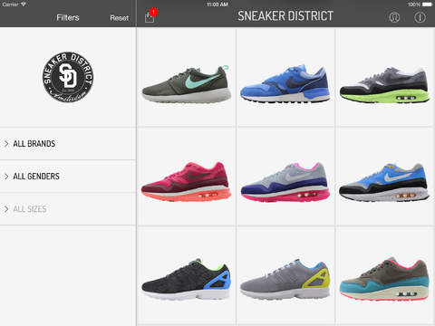 SneakerDistrict screenshot #1