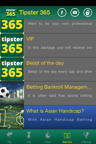 Tipster 365 - náhled