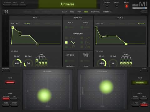 KORG iM1 screenshot 4
