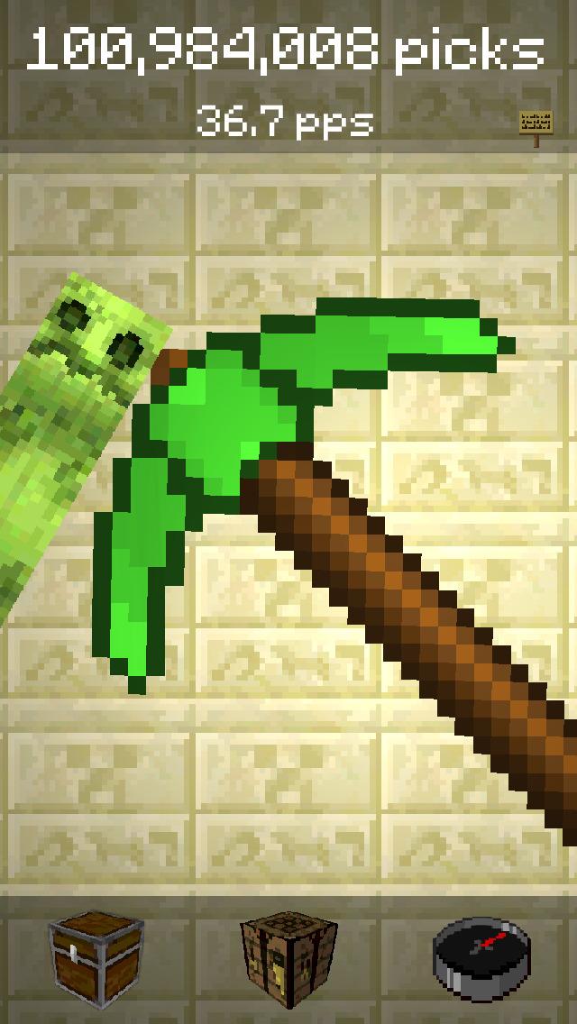 PickCrafter - Idle Craft RPG screenshot 1