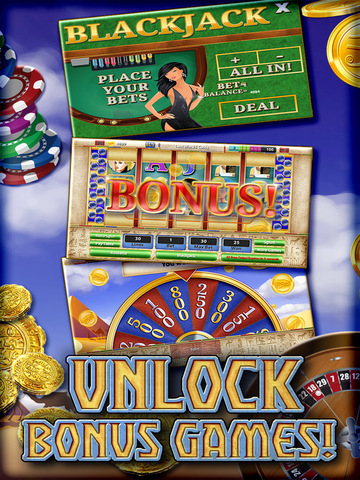 A Slots Cleopatra's Way Egypt Queen Casino 777 PRO (Blackjack & Roulette Casino) screenshot 9