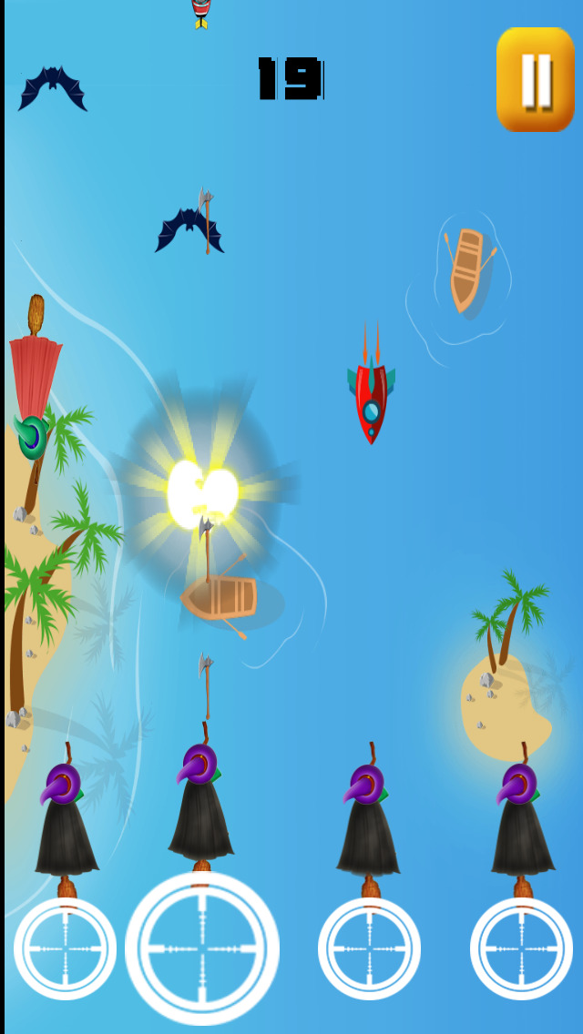 Wizard Warrior Shooting Battle Pro - cool enemy hunting arcade game screenshot 1