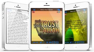 Aplikasi Mereka Cipta Dan Berkongsi Kad Ucapan Al Quran screenshot 1