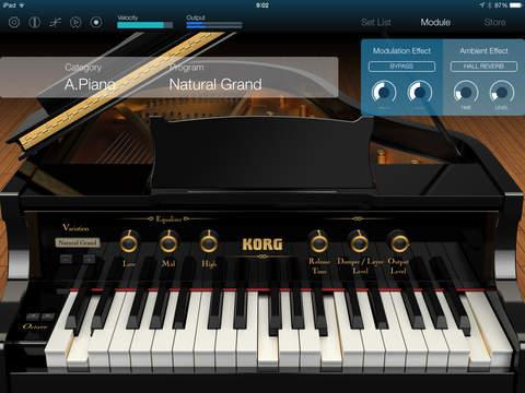 KORG Module Pro screenshot 7