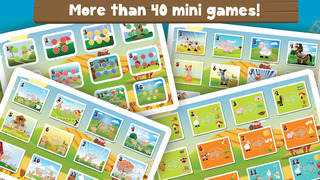 Milo's Free Mini Games for a wippersnapper - Barn and Farm Animals Cartoon screenshot 3