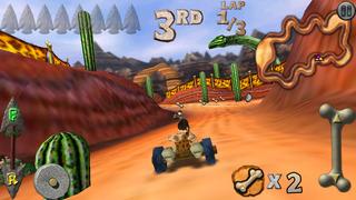 Cro-Mag Rally screenshot 1