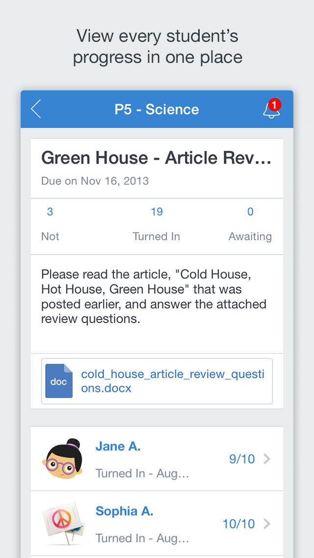 Edmodo screenshot 4