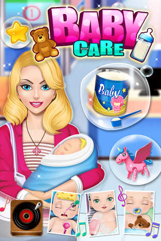 Baby Care & Baby Hospital - Kids games - náhled