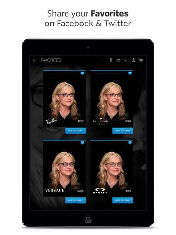 glasses.com for iPad screenshot 4