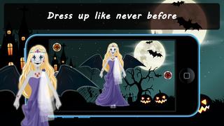 Spooky Princess Dress Up Lite screenshot 1
