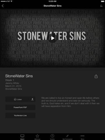 StoneWater Church screenshot 6