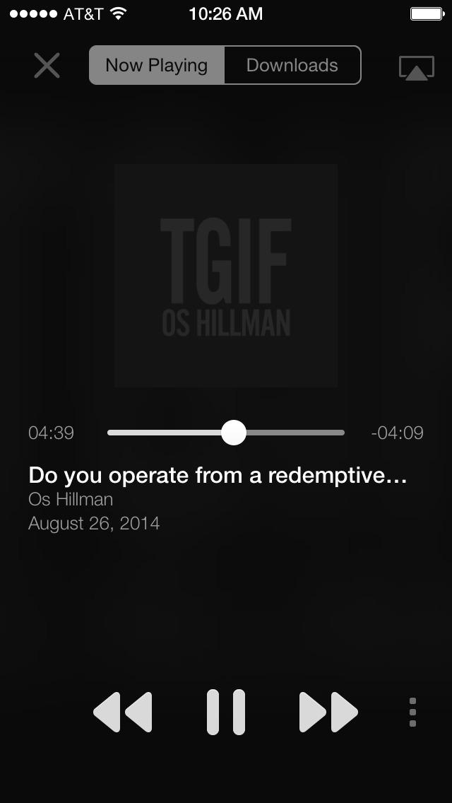 TGIF Os Hillman screenshot 2
